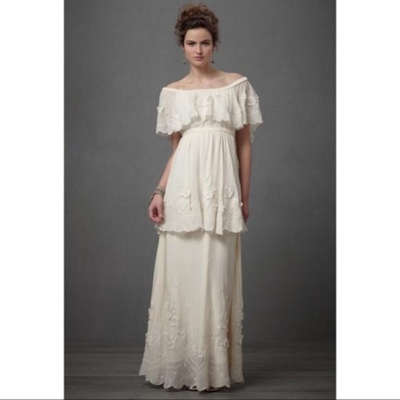 Bhldn Dresses Nwt Anthropologie Wedding Dress Poshmark